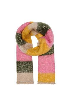 Springfield Stripes scarf strawberry