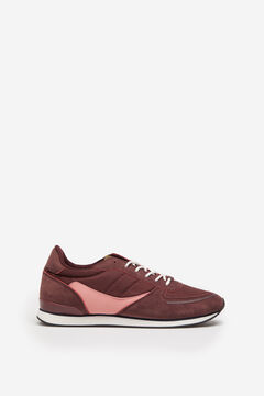 Springfield Retro sneaker deep red