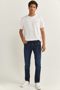 Springfield ESSENTIAL SHORT-SLEEVED T-SHIRT white