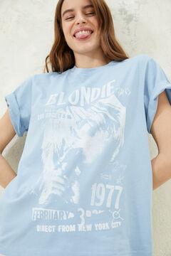 Springfield Blondie t-shirt royal blue