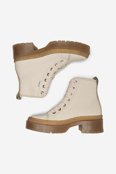 Springfield Canvas boots white