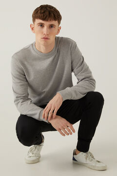 Springfield Essential crew neck sweatshirt gray