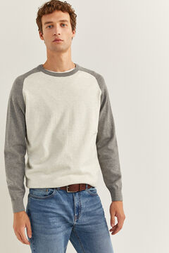Springfield Cotton jumper grey