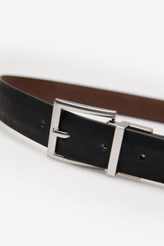 Springfield ESSENTIAL REVERSIBLE BELT brown
