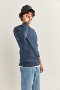 Springfield Crew neck sweatshirt bluish