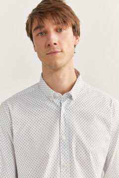 Springfield Printed shirt white