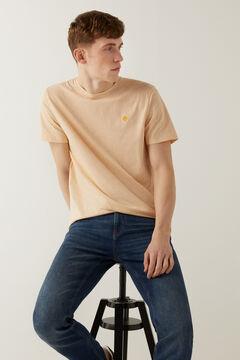 Springfield T-shirt microrayure rouge
