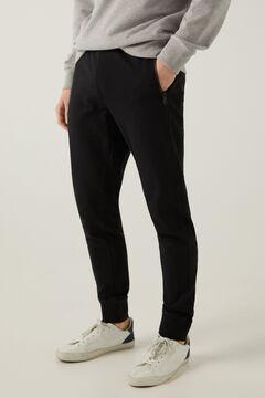 Springfield Sudadera capucha atabillados negro