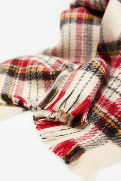 Springfield Checked Scarf stone