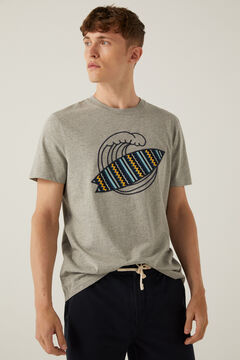 Springfield Camiseta surf plomo mezcla