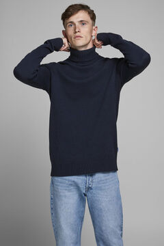 Springfield Sustainable high neck jumper bluish