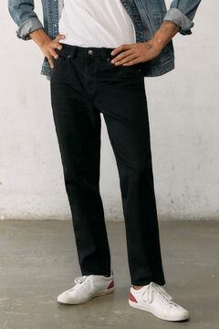 Springfield Black slim cropped comfort jeans black