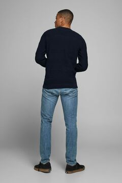 Springfield Crew neck jumper navy