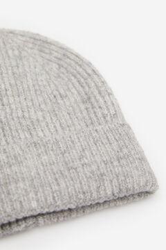 Springfield Bonnet Côtelé gris