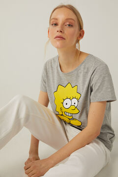 Springfield Lisa Simpson T-shirt grey