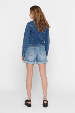 Springfield Denim jacket bleuté