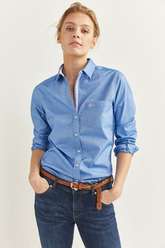Springfield Oxford Shirt blue