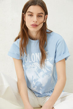 Springfield Blondie t-shirt royal blue