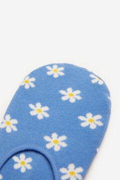 Springfield Daisy no-show socks blue