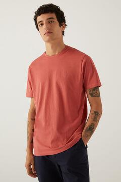Springfield Camiseta básica logo fresa