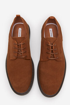Springfield SPLIT LEATHER BLUCHER SHOE beige