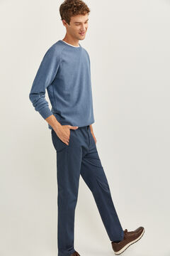 Springfield TEXTURED JUMPER blue