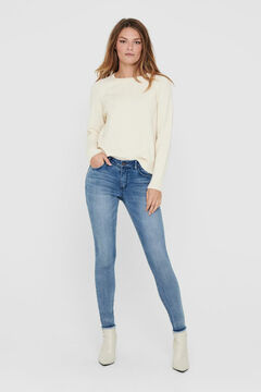 Springfield Long-sleeved jumper blanc