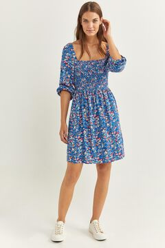 Springfield SMOCK DRESS blue