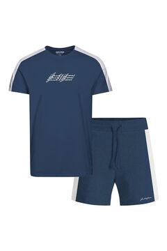 Springfield Sports t-shirt bleuté
