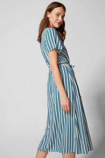 Springfield - Midi stripes dress - 5
