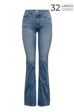 Springfield Bell-bottom jeans bluish