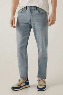 Springfield MEDIUM-LIGHT WASH REGULAR FIT JEANS blue
