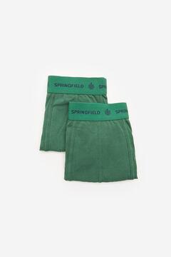 Springfield Pack 2 boxers básicos verde