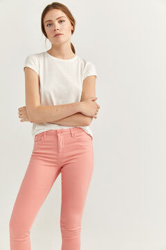 Springfield Slim Fit Cropped Jeans red