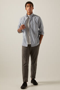 Springfield Striped shirt grey