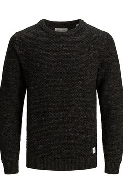 Springfield Sustainable crew neck jumper brown