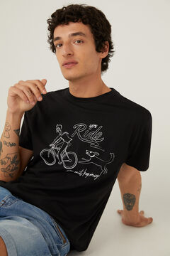 Springfield Bike line T-shirt black