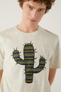 Springfield T-shirt cactus natural
