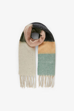 Springfield Wool scarf  brown