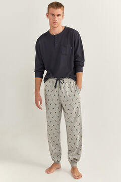 Springfield TEXTURED DOG PYJAMAS blue