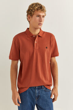 Springfield KLASSISCHES POLO REGULAR FIT rot