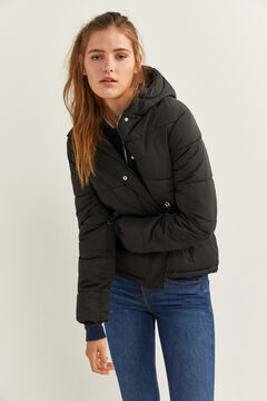 Springfield Short Quilted Jacket black