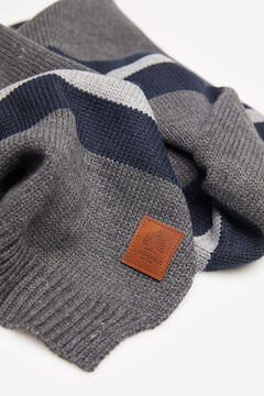 Springfield STRIPED SCARF grey mix