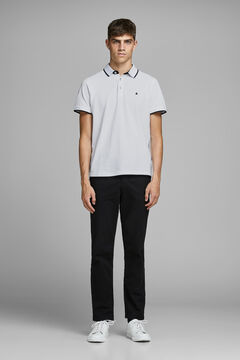 Springfield Polo shirt with logo white