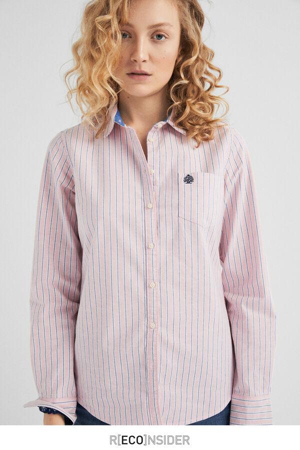 d1f5ff01af Springfield Camisa oxford coderas rosa