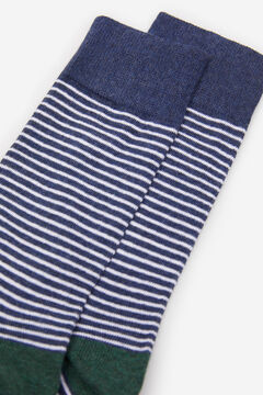 Springfield STRIPED SOCKS blue