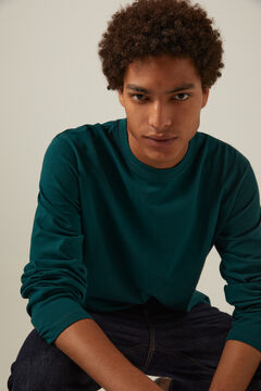 Springfield Boxy long-sleeved T-shirt violet