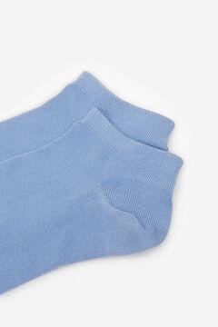Springfield Calcetín corto color azul acero