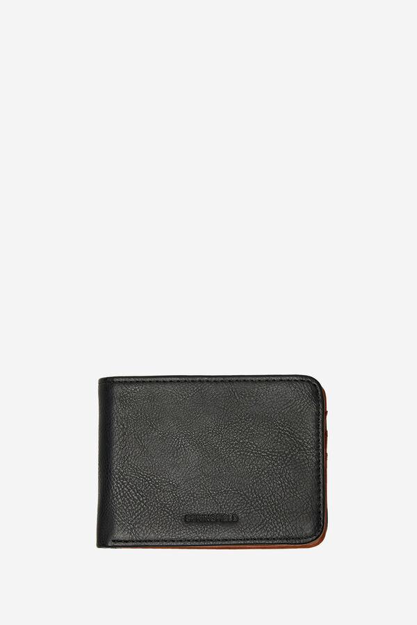 89a5d051e Springfield Billetera piel sintética básica negro