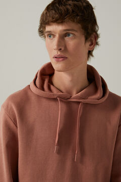 Springfield Essential boxy sweatshirt pink